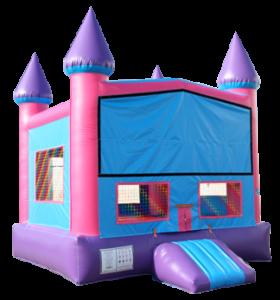 Mod Pink Castle Bouncer