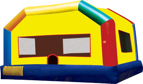 Fun house bouncer inflatable
